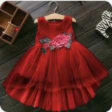 desain baju gaun anak baju dress pesta anak perempuan desain cantik lucu terbaru