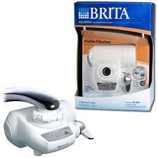 Brita Water Filter Faucet Adapter Brita Aquaview Avff 100 42645 Faucet Filter System White