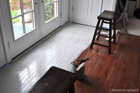 Wood Floor Paint Ideas Stunning Wood Floor Paint Ideas Painting A Prefinished Hardwood