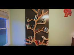 woodworking 3 diy how to make a tree bookshelf woodwork