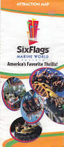 Directions To Six Flags Discovery Kingdom Six Flags Discovery Kingdom 2001 Park Brochures