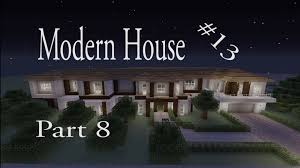 lets make a modern house part 8 in minecraft xbox 360 edition