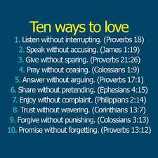 inspirational bible verses love