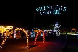 Singing Christmas Tree Lights Singing Christmas Trees Light Display At Christmas At The Princess