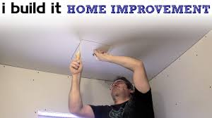 installing pot lights and the bathroom fan youtube
