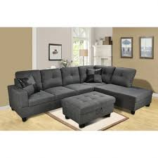 Tufted Sectional With Chaise Tufted Sectional Sofa With Chaise Chaise Design