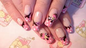 sweets cute and girly 3d ice cream nail art design tutorial