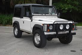 1997 land rover defender 90 1997 land rover defender 90 florida auto appraisal u2014 expert auto