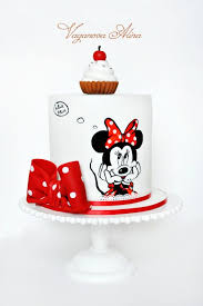 Red Minnie Mouse Cake Decorations 54 Best Minnie And Mickey Mouse Theme Parties Images On Pinterest