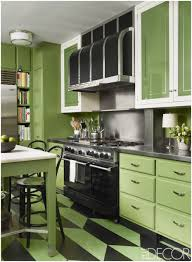 kitchen green kitchen walls brown cabinets cream color kitchen