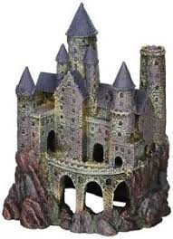 large magical castle ornaments fish tank decorative aquatic pets