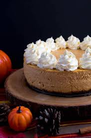 pumpkin cheesecake with gingersnap crust recipe queenslee appé