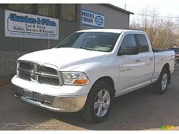 2011 dodge ram 1500 for sale 2011 dodge ram 1500 slt cab 4x4 in bright white 680611