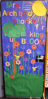 door decorations children s learning activities appreciation week door