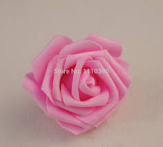 7cm floral foam eva rose heads artificial flower head artificial
