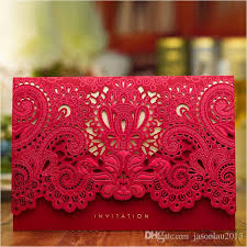 luxury wedding invitations 2017 gold laser cut bridal shower