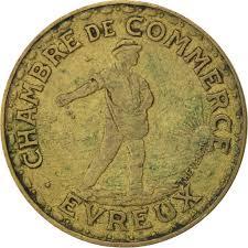 chambre du commerce evreux evreux chambre de commerce 1 franc 1922 elie 10 4 9413826634
