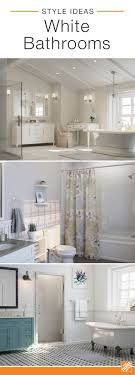 bright bathroom interior with clean bright white bathrooms are classic because the clean color opens