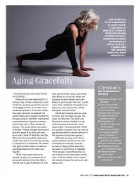 sweat equity magazine april may 2017 christine felstead u0027s yoga