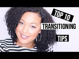 Styles To Wear While Transitioning To Natural Hair - 10 tips on transitioning to natural hair no big chop required