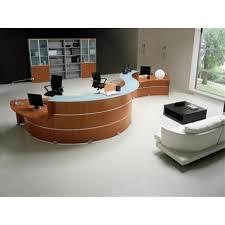 comptoir de bureau comptoir d accueil reception glass accueil pmr mobilier de bureau