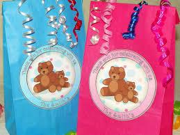 teddy bear goody bags w sticker seals included birthday or