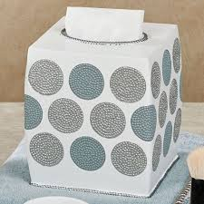 dotted circles contemporary bath accessories