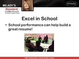 Build A Great Resume Milady U0027s Standard Cosmetology Ppt Download