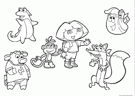 swiper the fox coloring pages coloring home