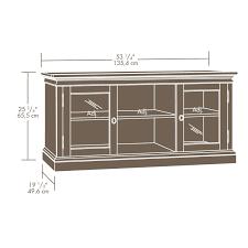 sauder barrister bookcase sauder barrister lane tv stand 414958 u2013 sauder the furniture co