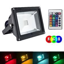 programmable led flood lights 20 watt 90 265vac rgb led flood light at bright color lighting