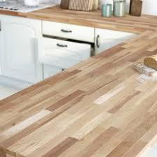 plan de travail cuisine en naturelle plan de travail bois massif inspirations avec plan de travail 3m50