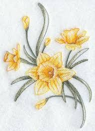 daffodil tattoo march birth flower tattoos pinterest