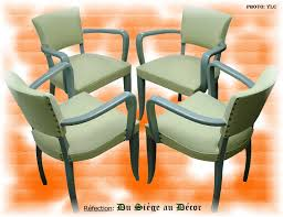 tapissier siege fauteuil bridge x4 du siège au décor tapissier d ameublement du