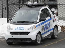 police car the nypd u0027s new police car is one of the smallest on the road