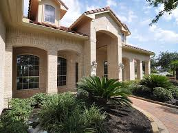 brick home designs exterior contemporary westport home houston home design with