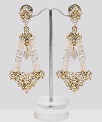 Chandelier Earrings India Pearl Chandelier Earrings Shopping Shop For Great