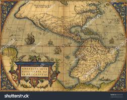 Map Of North And South America by Antique Map North South America By Stock Photo 90331279 Shutterstock