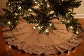 brown christmas tree skirt cutest non traditional christmas tree skirts shiny brite