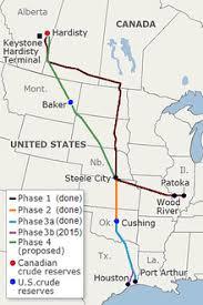keystone xl pipeline map keystone pipeline