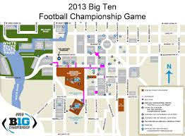 Ohio State Parking Map by Big Ten Official Athletic Site