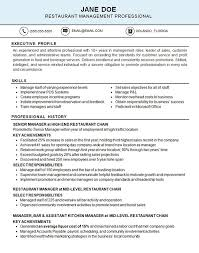 Restaurant Resume Samples by 266 Best Resume Examples Images On Pinterest Resume Examples