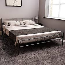 new tesco kenny 4 u00276 double powder coated metal bed frame with