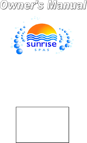 sunrise owner u0027s manual 2007 english documents