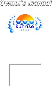 sunrise owner u0027s manual 2007 english documents