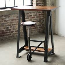 Work Table Desk Campos Iron Works Modern Iron Industrial Desks Standup