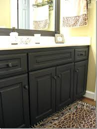 how to paint laminate cabinets without sanding painting bathroom cabinets painting laminate cabinets black bathroom