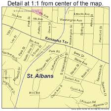 map of st albans st albans west virginia map 5471212
