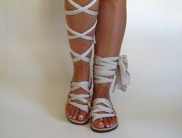 i wanna dance ballet in summer with lace up gladiator sandals from