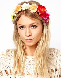 limited edition festival flower headband accesorios